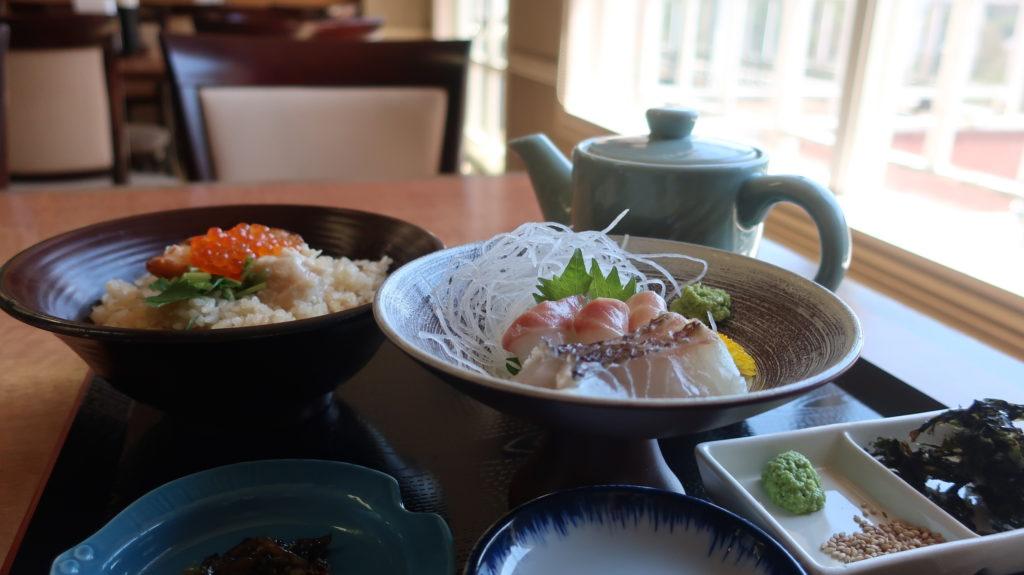 食事処福浦の鯛茶漬け