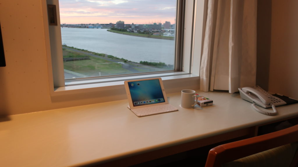 ディアモント新潟西の部屋の景色