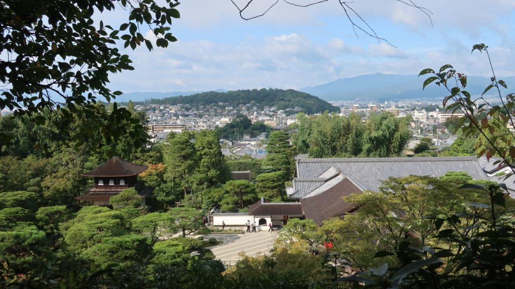 銀閣寺の立地