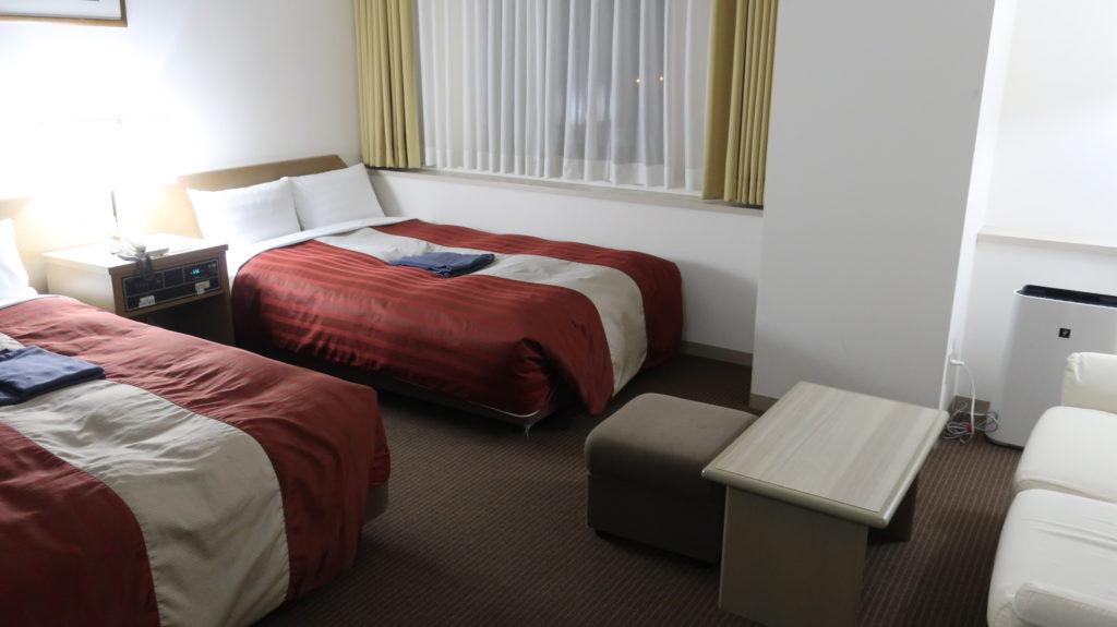 ホテルナガノアベニュー 部屋