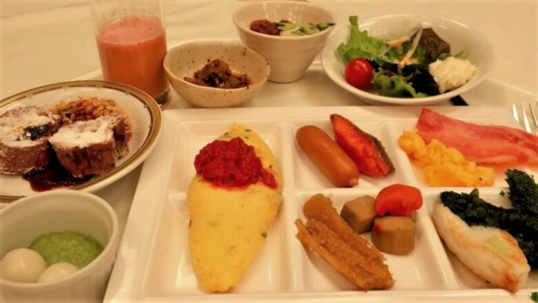 ホテルモントレ仙台 朝食