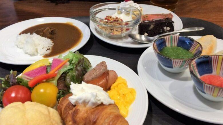 ホテルビスタ仙台 朝食バイキング