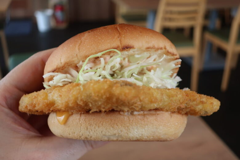 深海魚バーガー