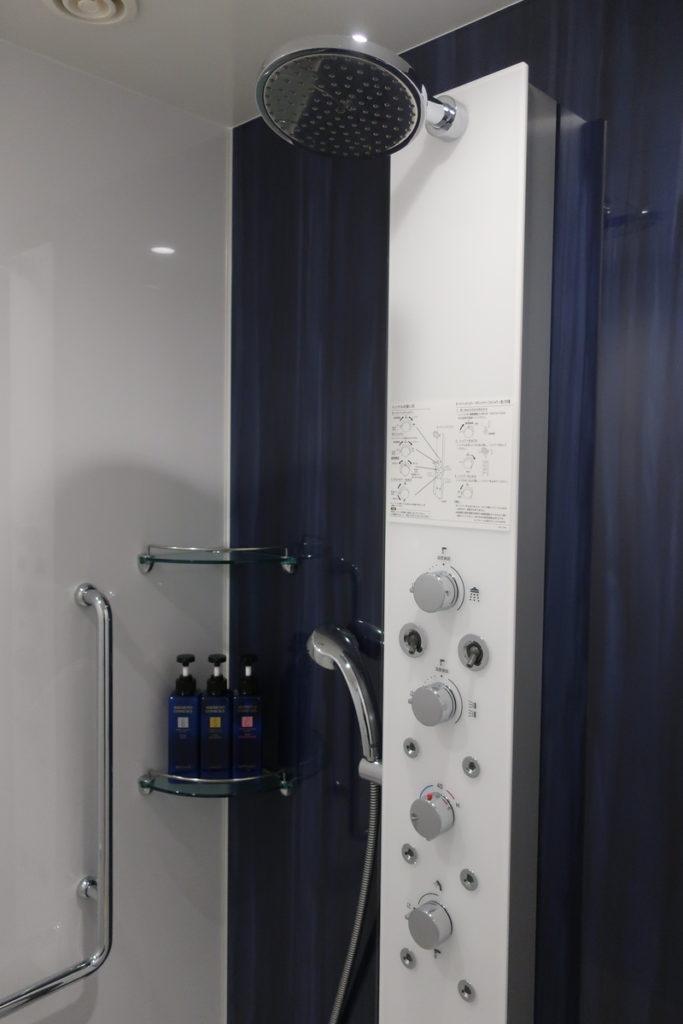 熱海後楽園ホテル  シャワー