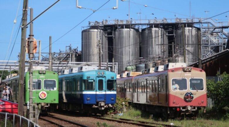醤油工場と銚子電鉄
