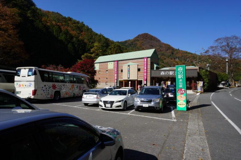 昇仙峡 滝上バス停