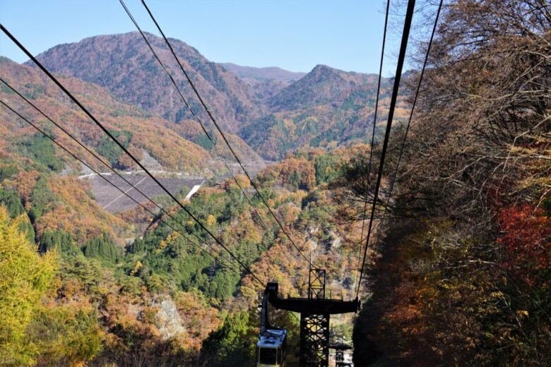 昇仙峡ロープウェイ 景色