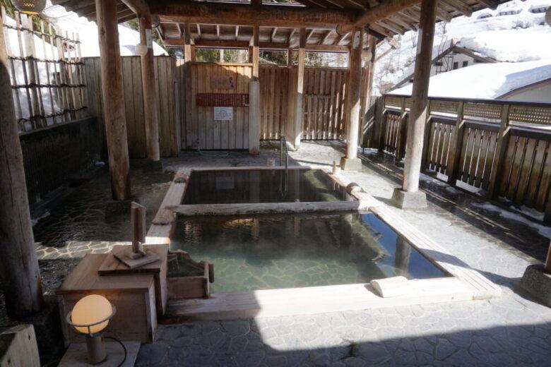 露天風呂「月見の湯」