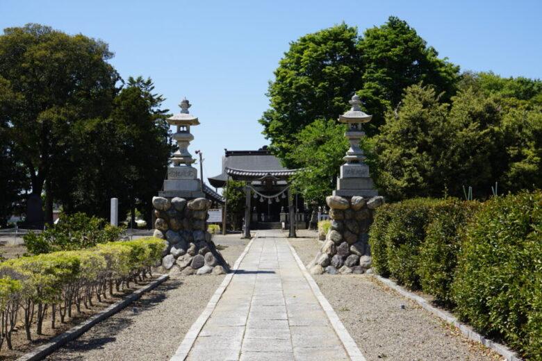 諏訪神社 深谷
