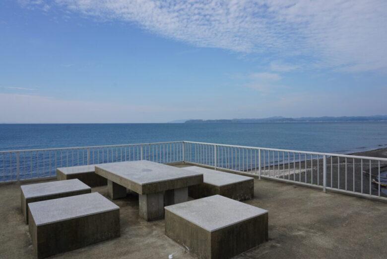 見物海岸 展望スペース