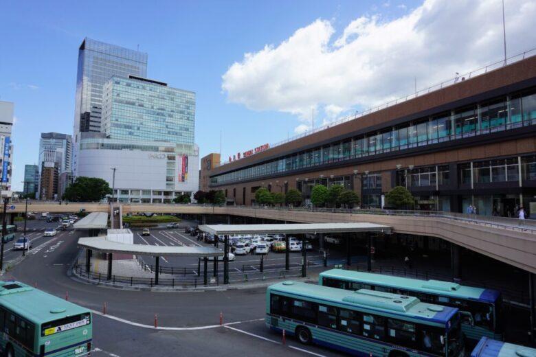 古くから栄えている仙台駅西口
