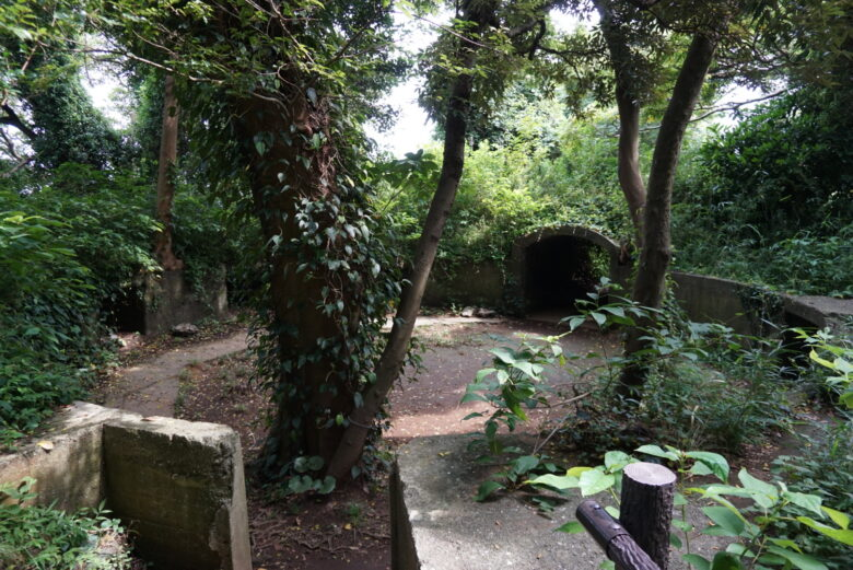 猿島、砲台