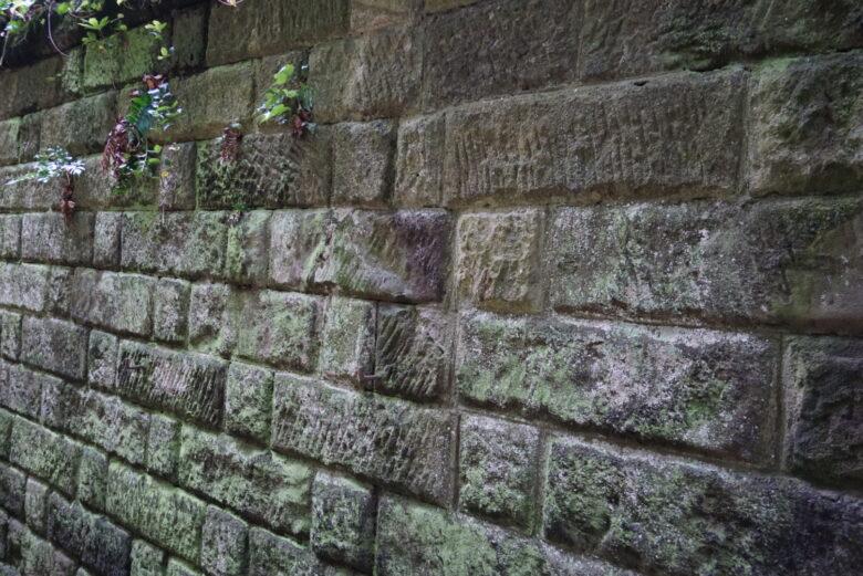 猿島、比較的古い房州石