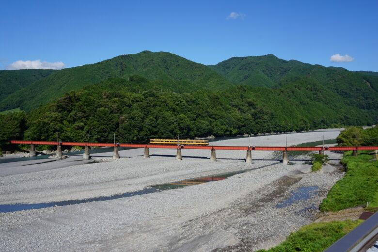 大井川鉄道 鉄橋
