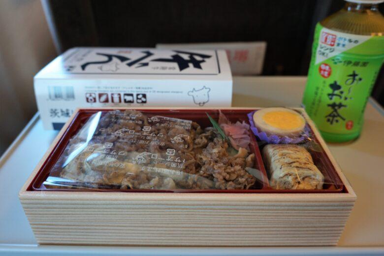 常陸牛・牛べん1100円