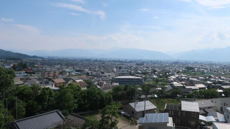 松本市の全景