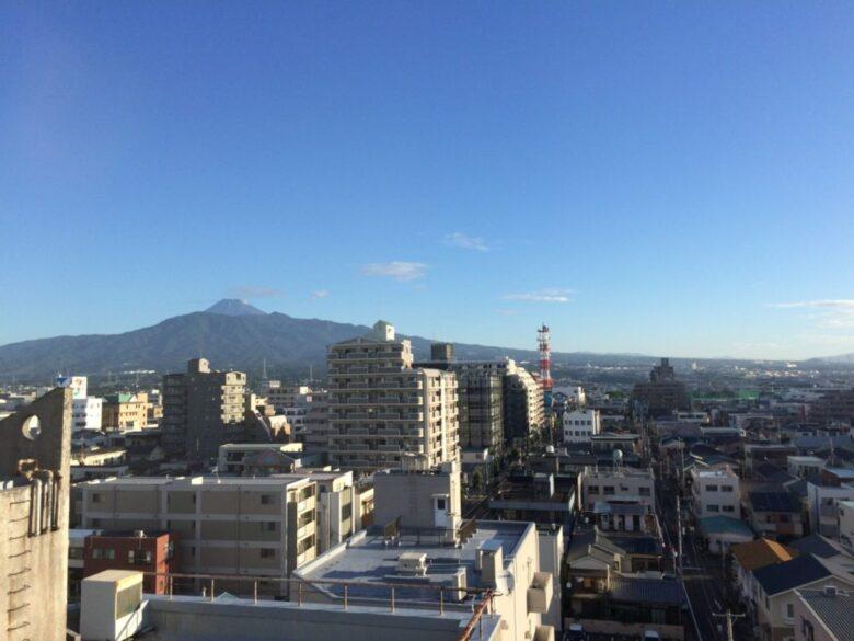 静鉄ホテルプレジオ沼津 富士山