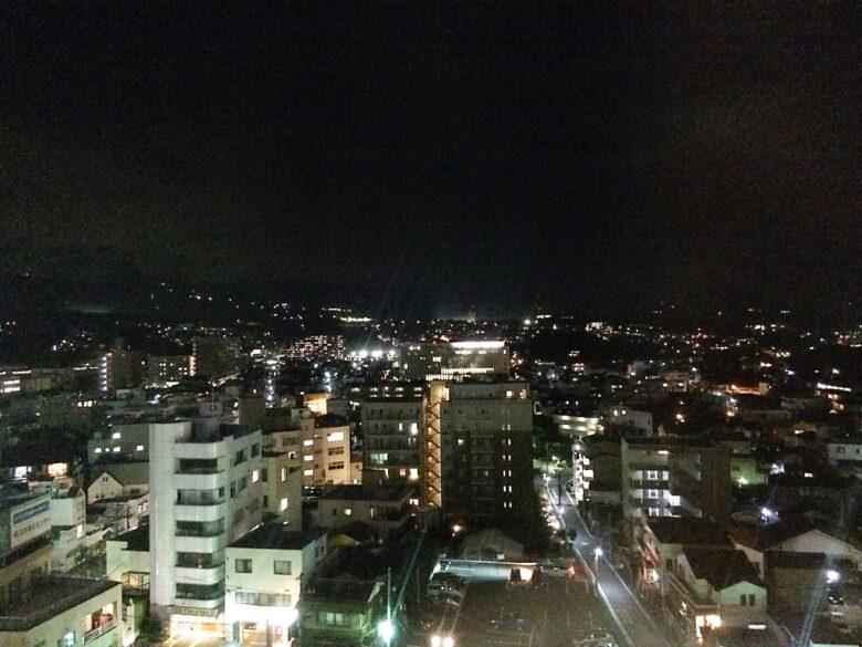 ホテルアルファーワン三島 夜景