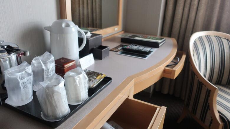 沼津リバーサイドホテル デスク