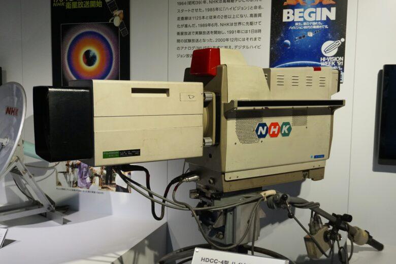 HDCCー4型 ハイビジョンカメラ(1980年)