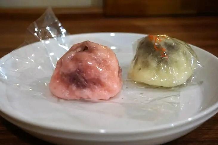 富士峰菓子舗の「ゆでまんじゅう」
